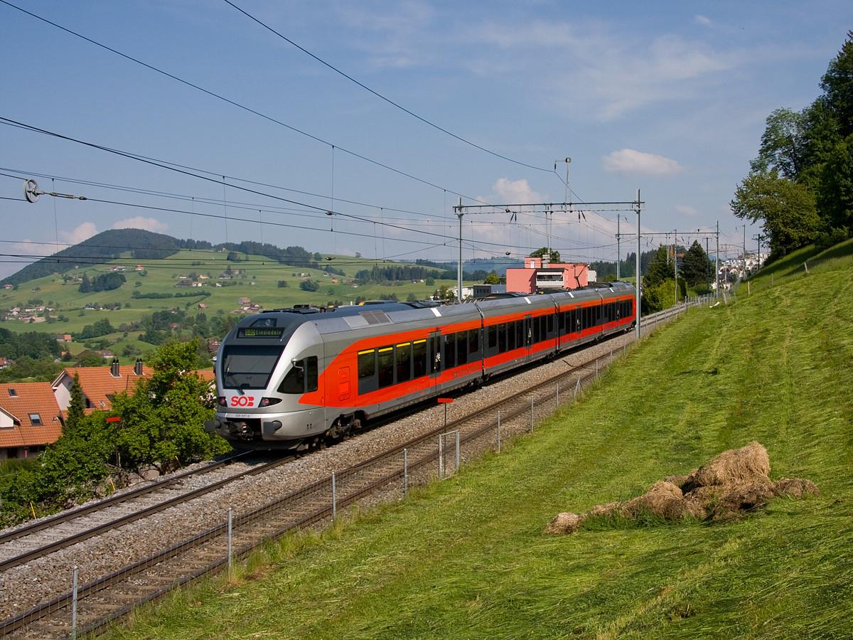 Altes SOB Rollmaterial im Sonderzug- und Planverkehr