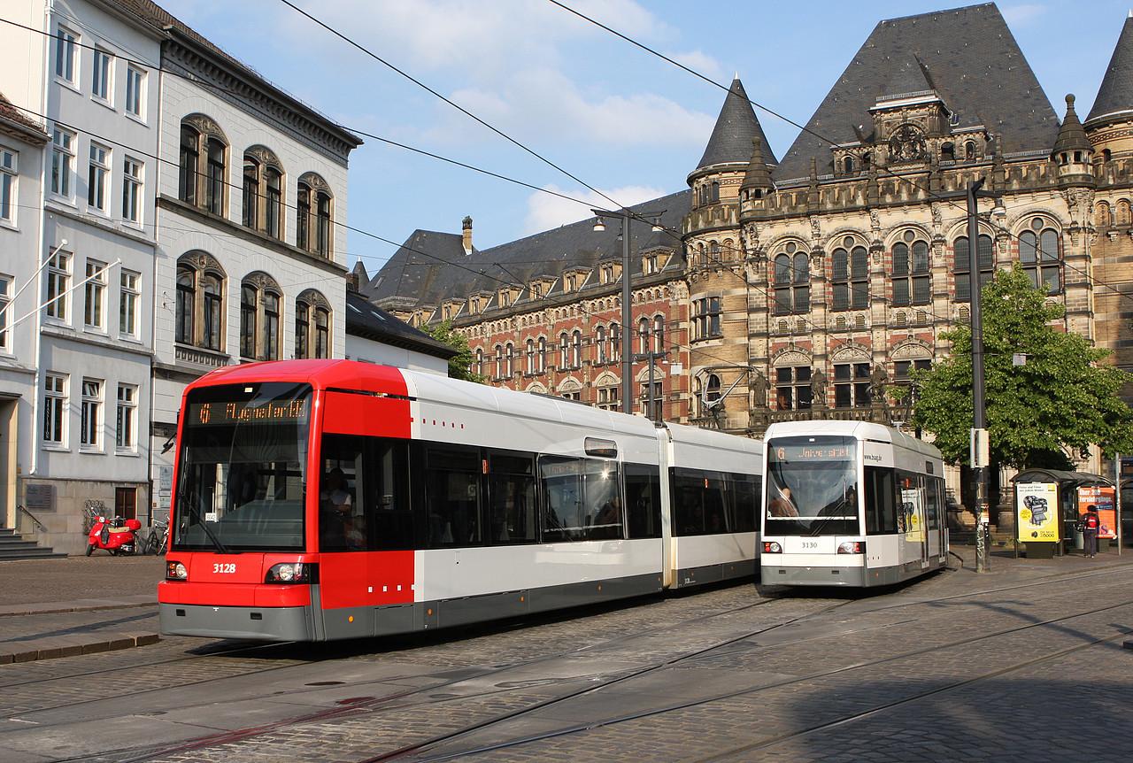 3128 der BSAG in Bremen Domsheide