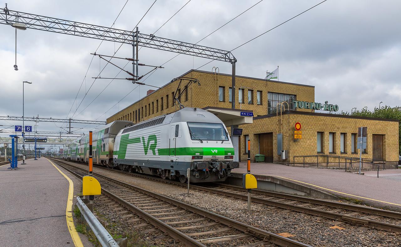 Sr2 3213 der VR in Turku