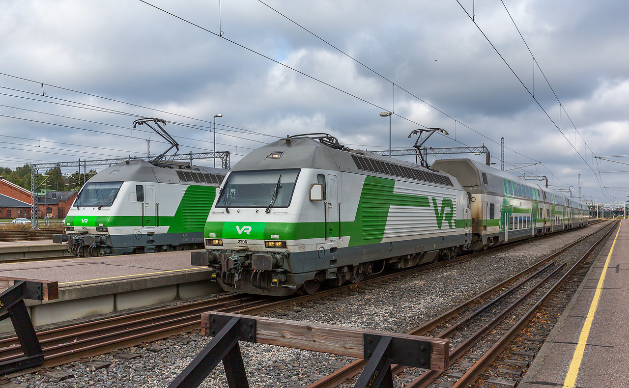 Sr2 3206 der VR in Turku