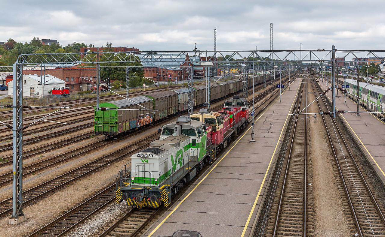 Dv12 2659 der VR in Turku